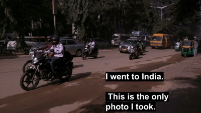 I went to India and everything for me changed
