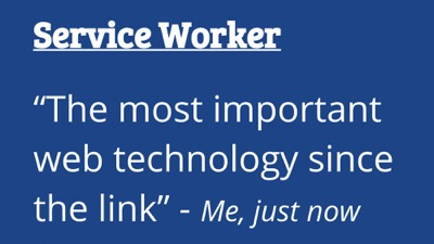 Use a Service Worker. It is critical.