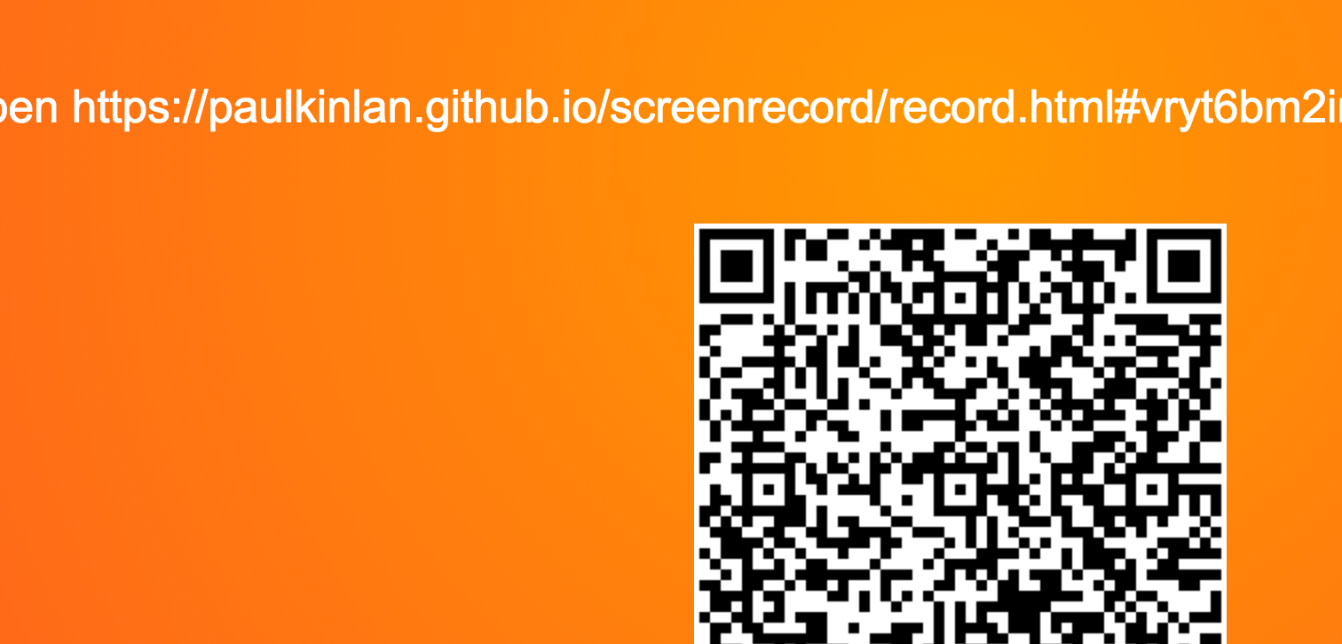 Screen recording on Android with getUserMedia and WebRTC - Modern